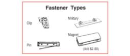 Badge Fasteners