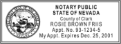 Notary Stamps, Notary Seals